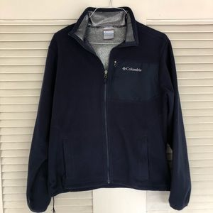 Men's Columbia Fleece Jacket Size M